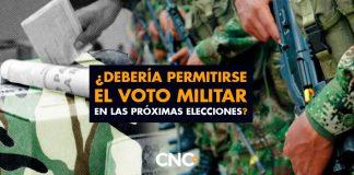 ¿Debería permitirse el VOTO MILITAR en las próximas elecciones?
