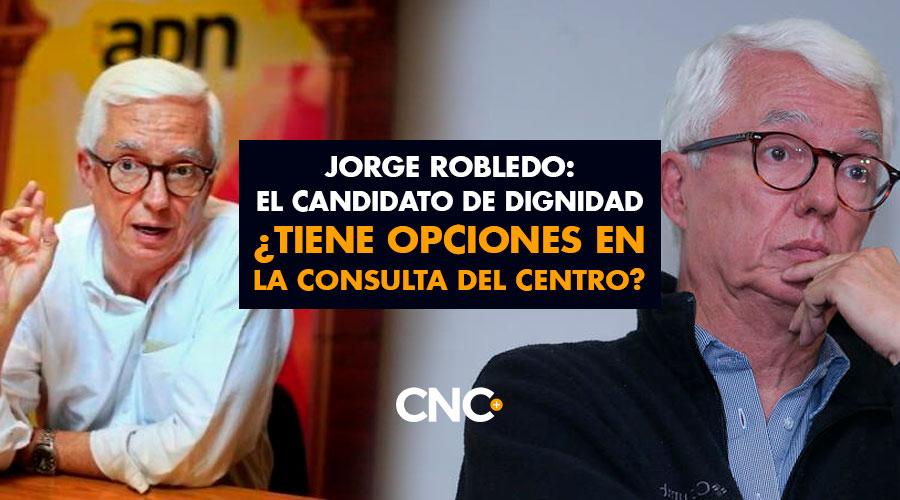 Jorge Robledo: el candidato de DIGNIDAD ¿Tiene opciones en la consulta del Centro?