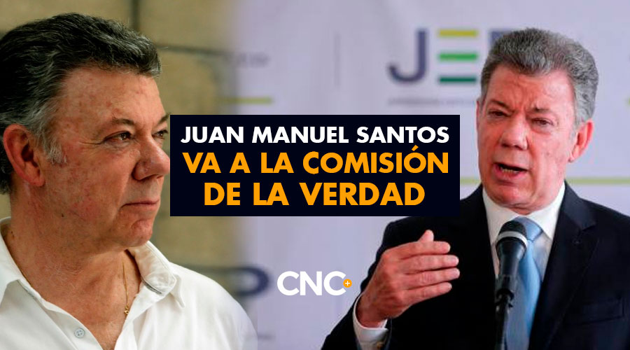 Juan Manuel Santos va a la Comisión de la Verdad