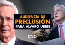 Audiencia de Preclusión para Álvaro Uribe
