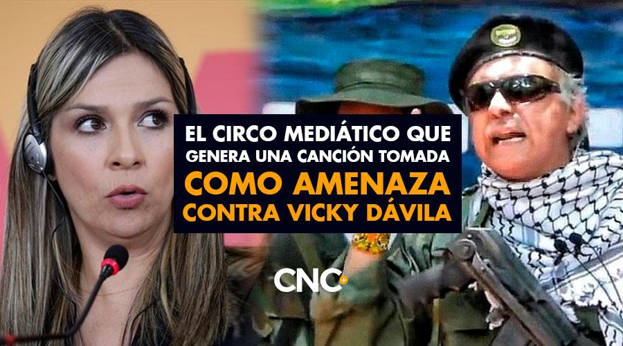 El Circo Mediático que genera una canción tomada como amenaza contra Vicky Dávila