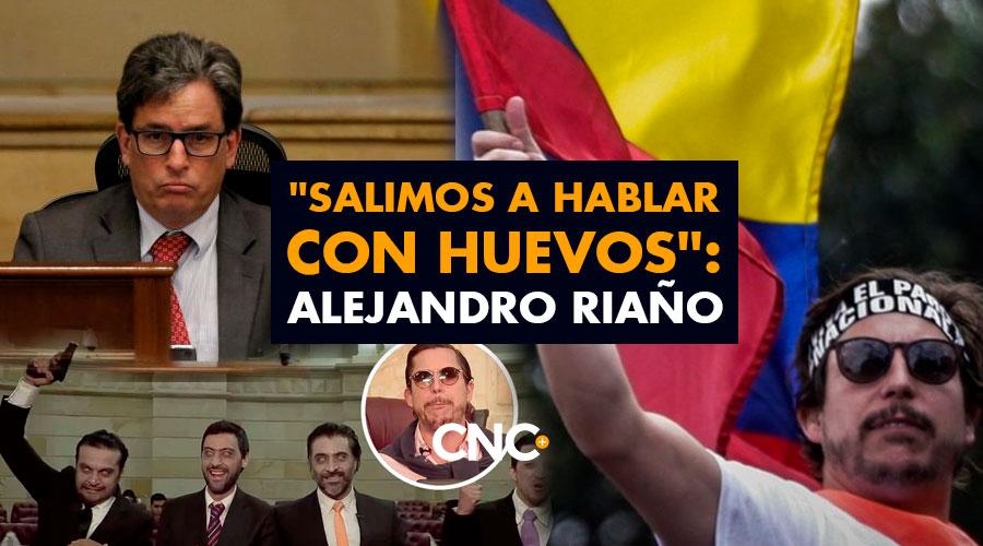 """""""Salimos a hablar con HUEVOS"""": Alejandro Riaño"""