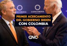Primer acercamiento del Gobierno Biden con Colombia