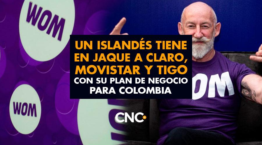Un Islandés tiene en Jaque a Claro, Movistar y Tigo con su plan de negocio para Colombia