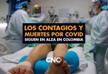 Los Contagios y Muertes por Covid siguen en alza en Colombia