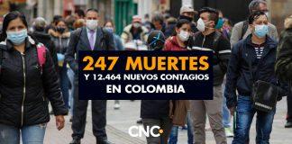 247 Muertes y 12.464 Nuevos Casos confirman inicio de la Tercera Ola del Virus
