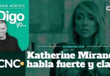 Katherine Miranda habla fuerte y claro