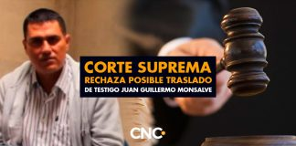 Corte Suprema rechaza posible traslado de testigo Juan Guillermo Monsalve