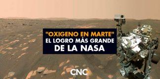 """""""OXIGENO en MARTE"""" el logro más grande de la NASA"""
