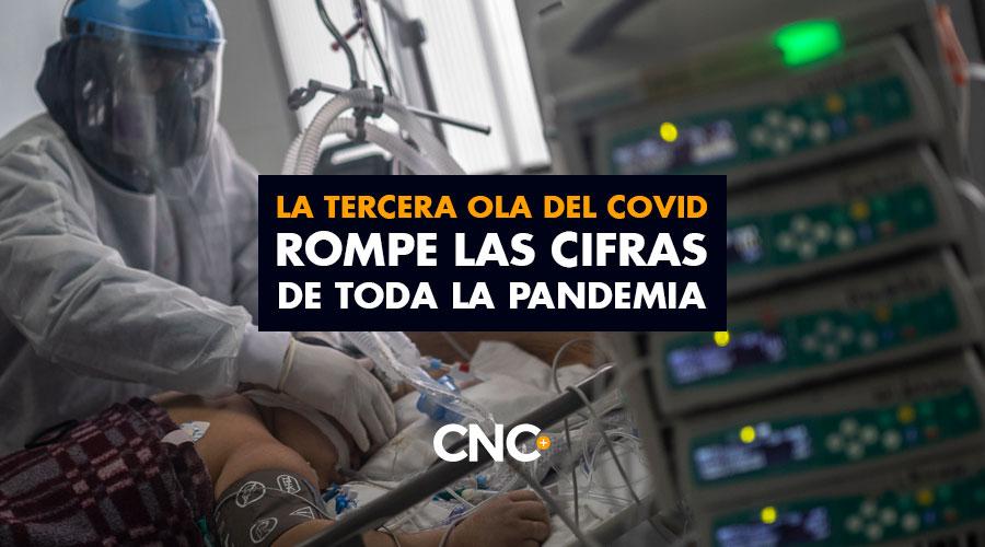 La TERCERA OLA del Covid ROMPE las cifras de toda la pandemia (420 muertes)