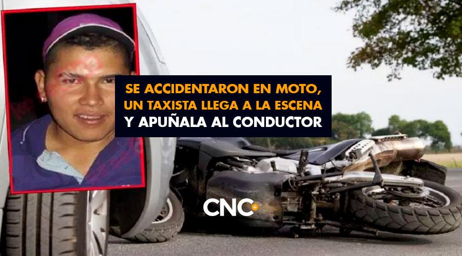 Se accidentaron en Moto y un Taxista llega a la escena y apuñala al conductor ¡Extraño Caso en Bucaramanga!