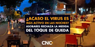 ¿Acaso el virus es más activo en las noches? Asobares rechaza la medida del Toque de Queda