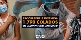 Procuraduría investiga 1.790 COLADOS en vacunaciones anticovid