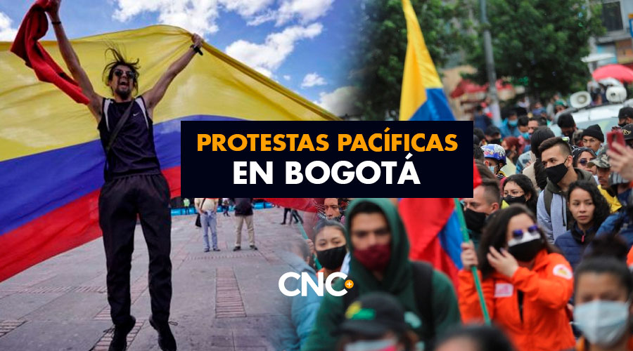 Protestas Pacíficas en Bogotá