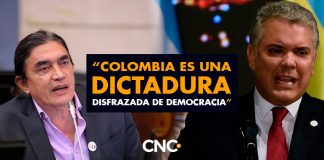 """Gustavo Bolívar: """"Colombia es una dictadura disfrazada de democracia"""""""