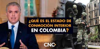 ¿Qué es el estado de conmoción interior en Colombia?