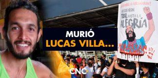 Murió Lucas Villa...