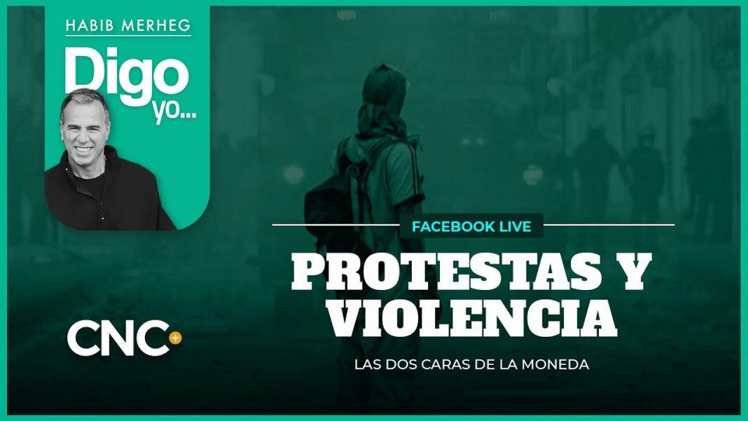 PROTESTAS Y VIOLENCIA: Dos caras de la misma moneda
