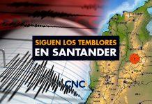 Siguen los Temblores en Santander