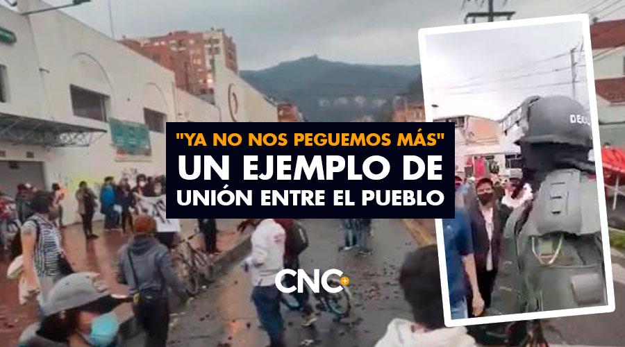 """""""Ya no nos peguemos más"""" Un ejemplo de UNIÓN entre el pueblo"""