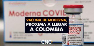 Vacuna de Moderna, próxima a llegar a Colombia tras acuerdo con Covax