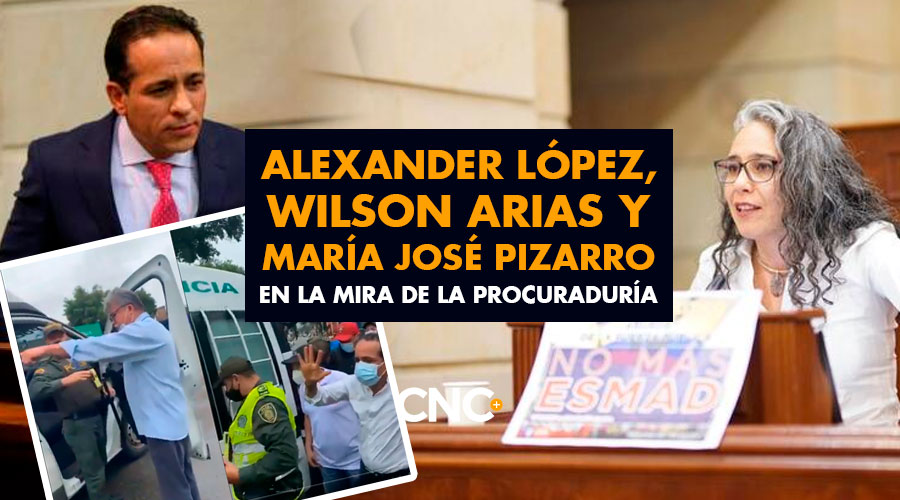 Alexander López, Wilson Arias y María José Pizarro en la mira de Procuraduría