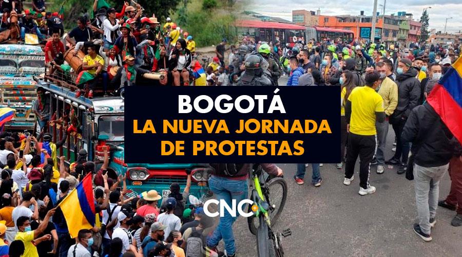 Bogotá y la nueva jornada de protestas