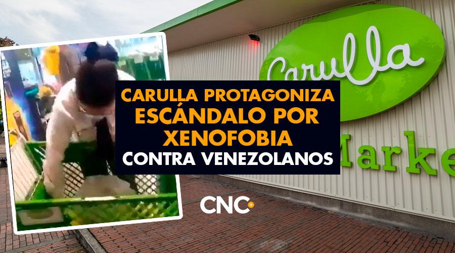CARULLA protagoniza escándalo por XENOFOBIA contra venezolanos
