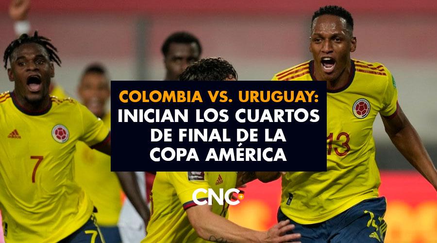 Colombia vs. Uruguay: Inician los Cuartos de Final de la Copa América
