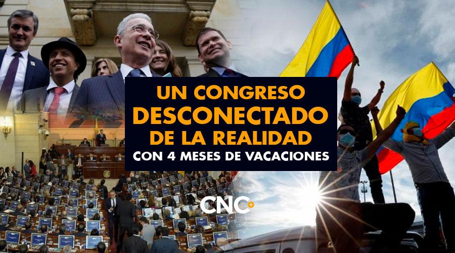 Un Congreso desconectado de la realidad con 4 meses de vacaciones