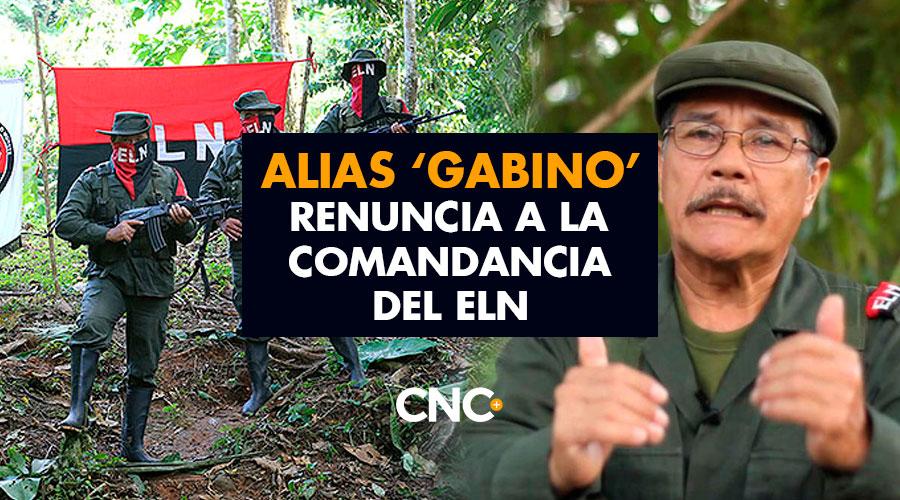 Alias 'Gabino' renuncia a la comandancia del ELN