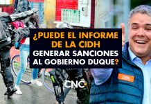¿Puede el informe de la CIDH generar sanciones al gobierno Duque?