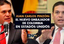 Juan Carlos Pinzón: El nuevo embajador de Colombia en Estados Unidos