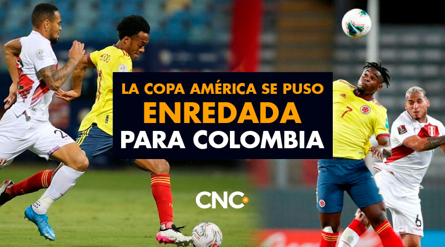 Seguimos en SEGUNDO lugar pero la Copa América se puso enredada para Colombia