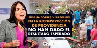 Susana Correa y su equipo en la reconstrucción de Providencia no han dado el resultado esperado