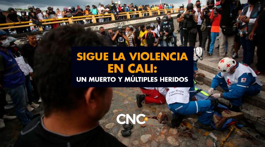 Sigue la VIOLENCIA en Cali: Un muerto y múltiples heridos