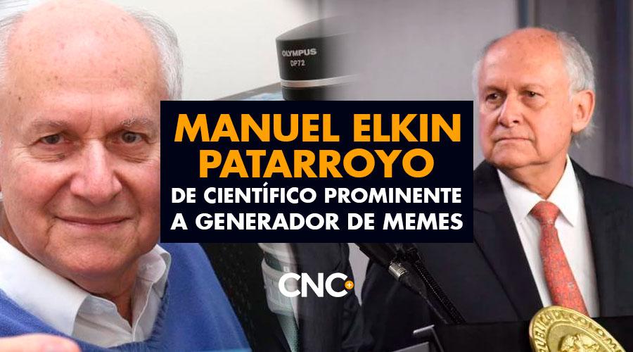 Manuel Elkin Patarroyo de Científico Prominente a generador de Memes