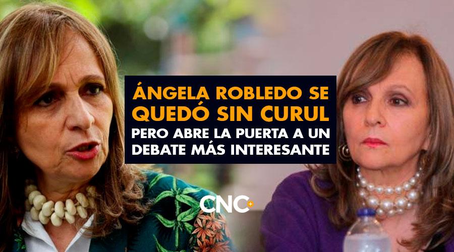 Ángela Robledo se quedó sin CURUL pero abre la puerta a un DEBATE más interesante