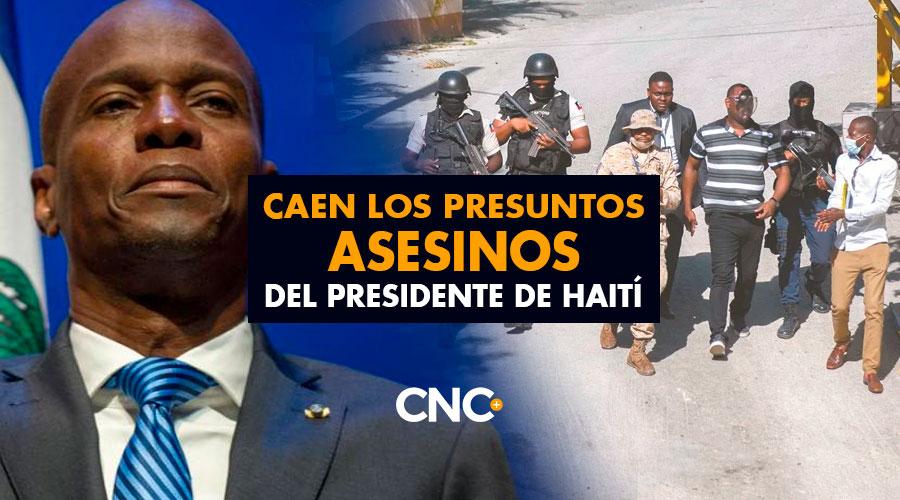 Caen los presuntos asesinos del presidente de Haití