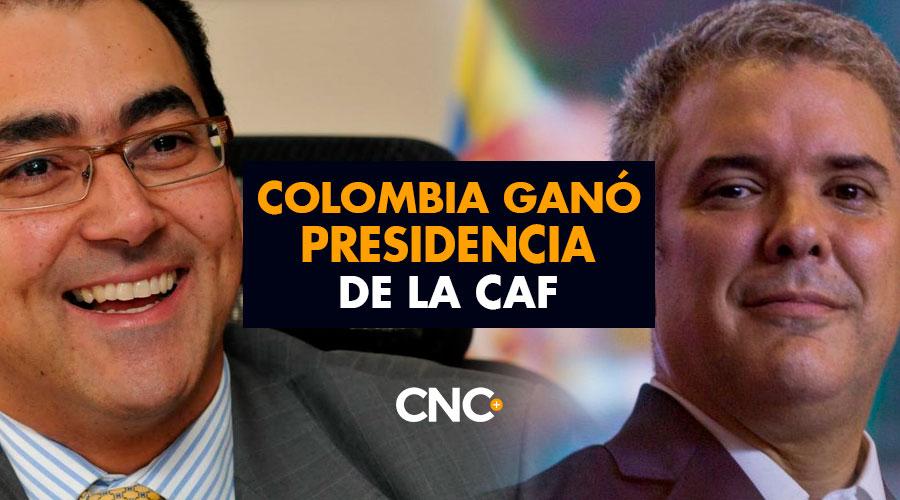 Colombia ganó presidencia de la CAF