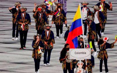 Colombia desfila en los Olímpicos de Japón