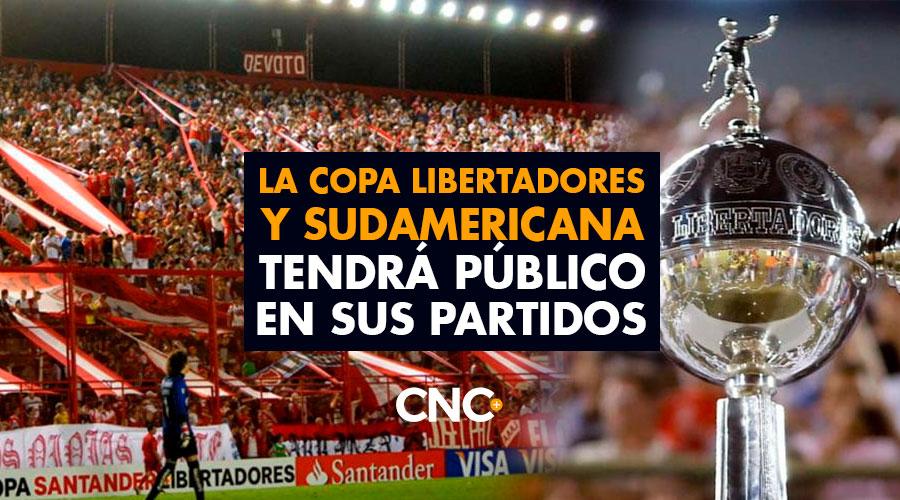 La Copa Libertadores y Sudamericana tendrá público en sus partidos