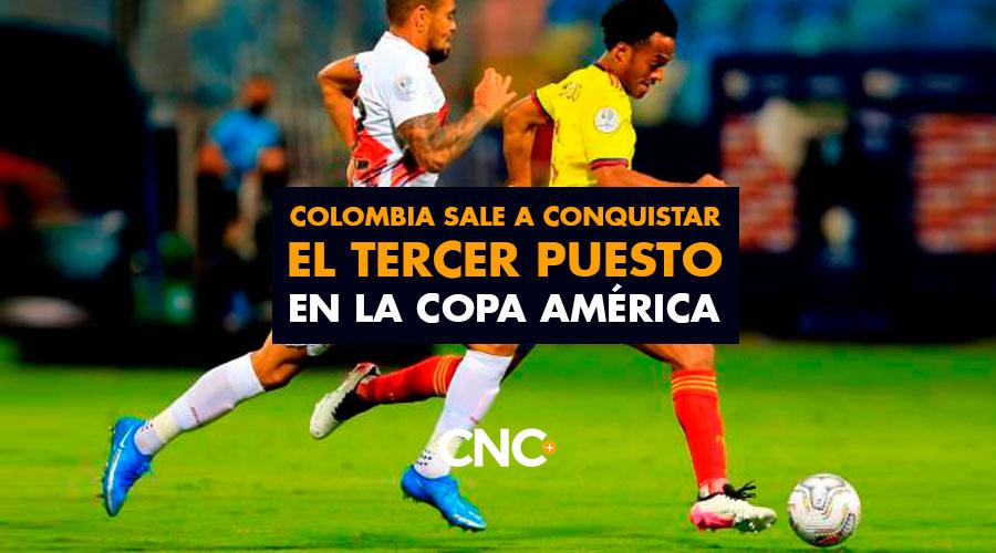 Colombia sale a conquistar el Tercer puesto en la Copa América