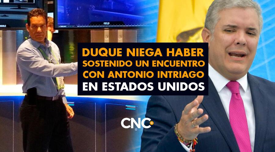 Duque niega haber sostenido un encuentro con Antonio Intriago en Estados Unidos