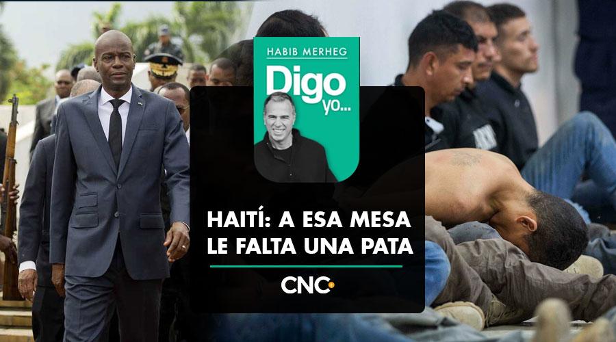 HAITÍ: A ESA MESA LE FALTA UNA PATA