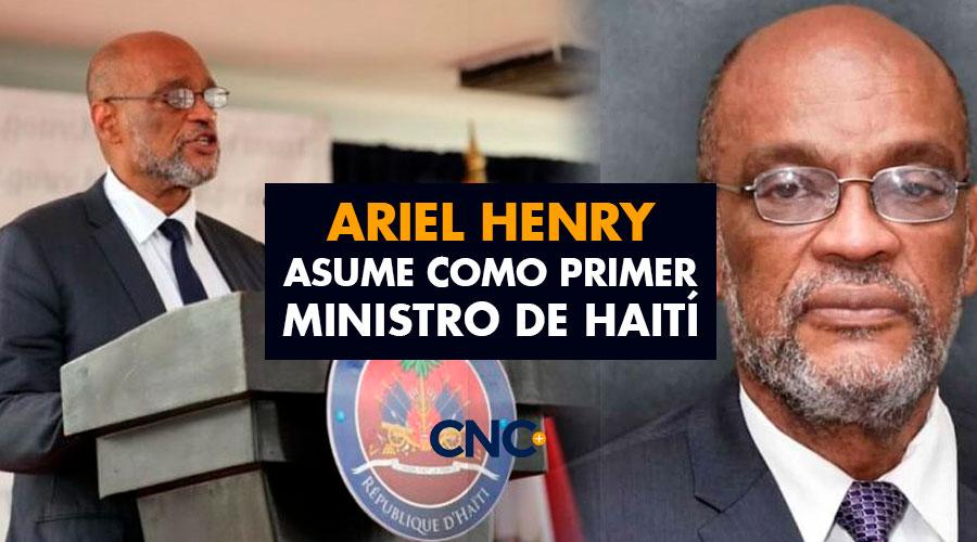 Ariel Henry asume como primer ministro de Haití