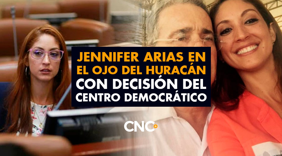 Jennifer Arias en el OJO del huracán con decisión del Centro Democrático