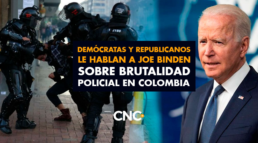 Demócratas y Republicanos le hablan a Joe Binden sobre BRUTALIDAD POLICIAL en Colombia