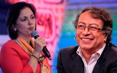 María del Rosario Guerra SE RETRACTA FRENTE A PETRO