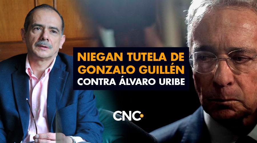 Niegan Tutela de Gonzalo Guillén contra Álvaro Uribe
